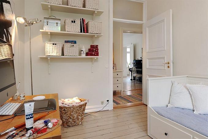 Интерьер красивой квартиры с замечательной кухней в деревенском стиле в Швеции ~ Дизайн красивых интерьеров и вещей
