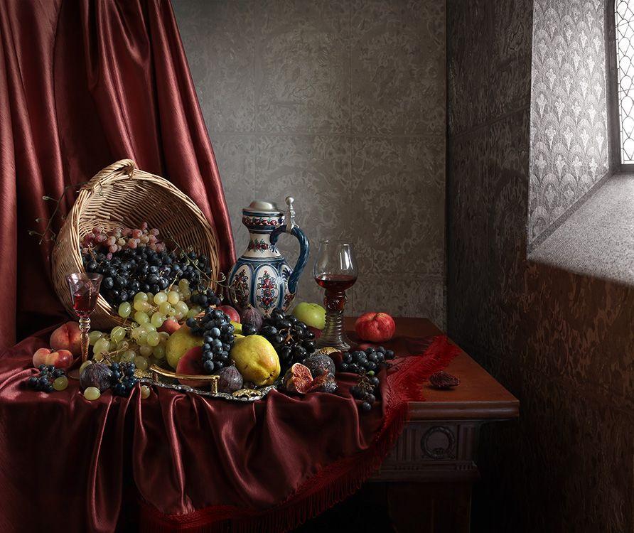 35PHOTO - Карачкова Татьяна - Два взгляда на десерт с арбузом и виноградом