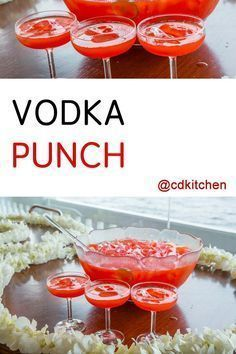 Vodka Punch - The combination of cranberry juice, lemonade and 7-UP makes this a very refreshing punch. It's always a hit with large groups and you can't beat how simple it is to make. Hint: freeze additional cranberry juice in ice cube trays to use in place of regular ice. | CDKitchen.com #vodkapunch Vodka Punch - The combination of cranberry juice, lemonade and 7-UP makes this a very refreshing punch. It's always a hit with large groups and you can't beat how simple it is to make. Hint: freeze #vodkapunch