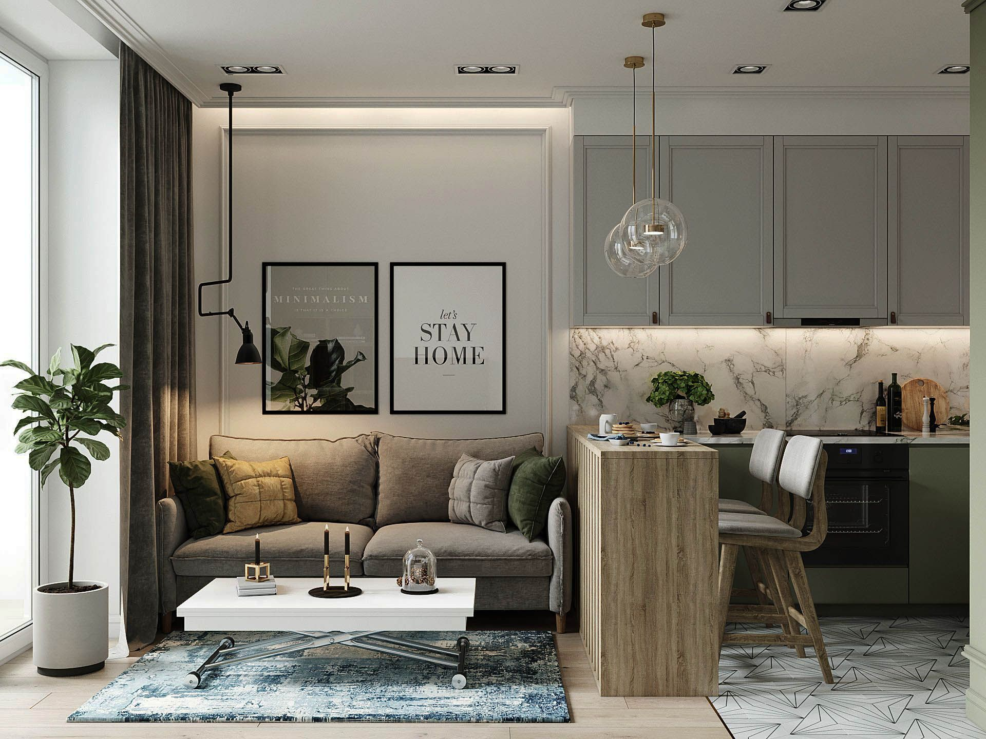25 Suggestions To Take For Your Flat Condo Interior Small