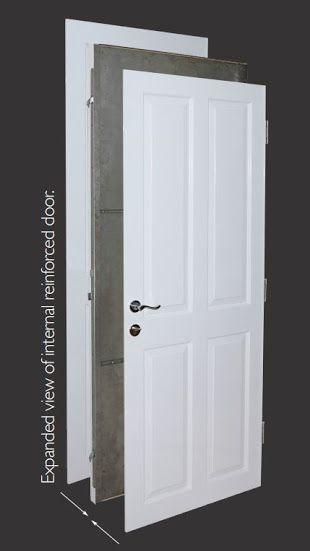 Safe room doors Extremely secure internal and external doors. Steel core, much stronger than composite. Safe room, gun armoury and panic room doors. http://henleyssecuritydoors.co.uk/external-security-doors/
