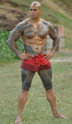 polynesian tattoo on nude girls