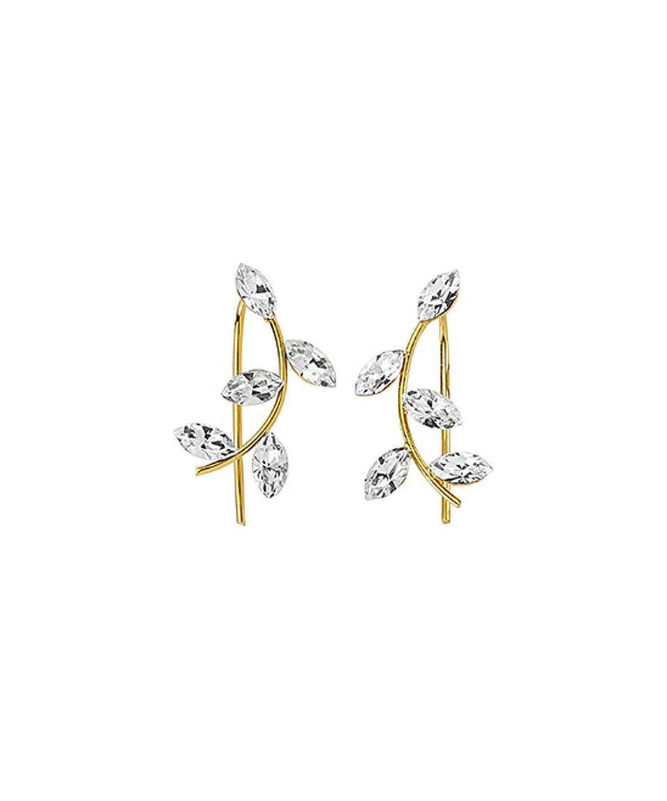 89a223ceb Amorium Jewelry Cubic Zirconia & Goldtone Navette Ear Cuffs by Amorium  Jewelry #zulily