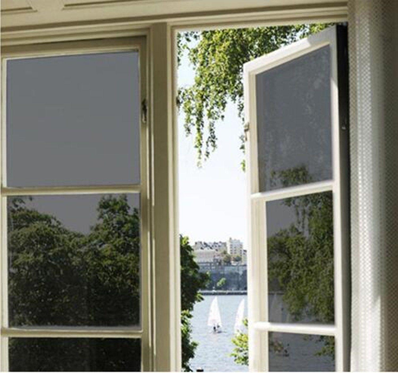 Bofeifs Window Tint For Home Solar Film Heat Control Window Film Office Privacy Glass Window Sticker Smooth Glass Window Film Tinted Windows Window Film Office