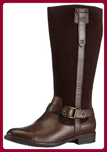 Tamaris 25514, Damen Biker Boots, Braun (Mocca 304), 36 EU