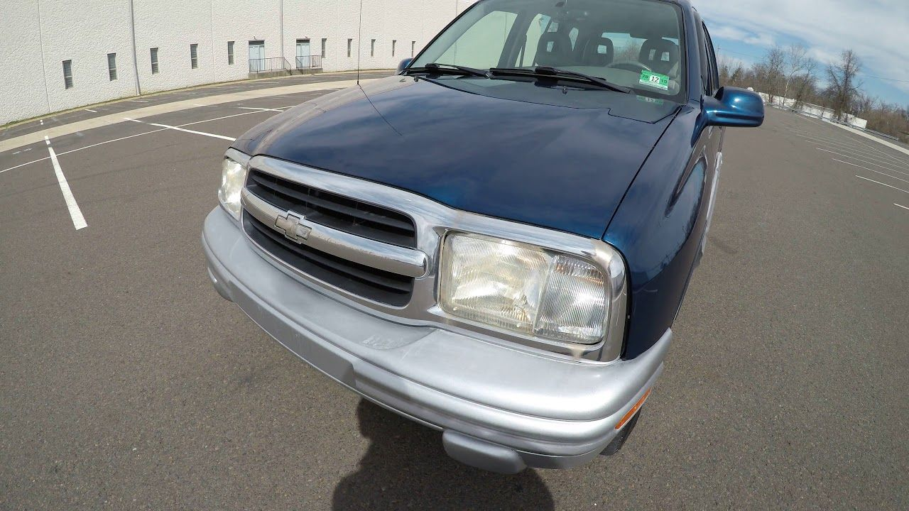 4k Review 2002 Chevrolet Tracker Virtual Test Drive And Walk