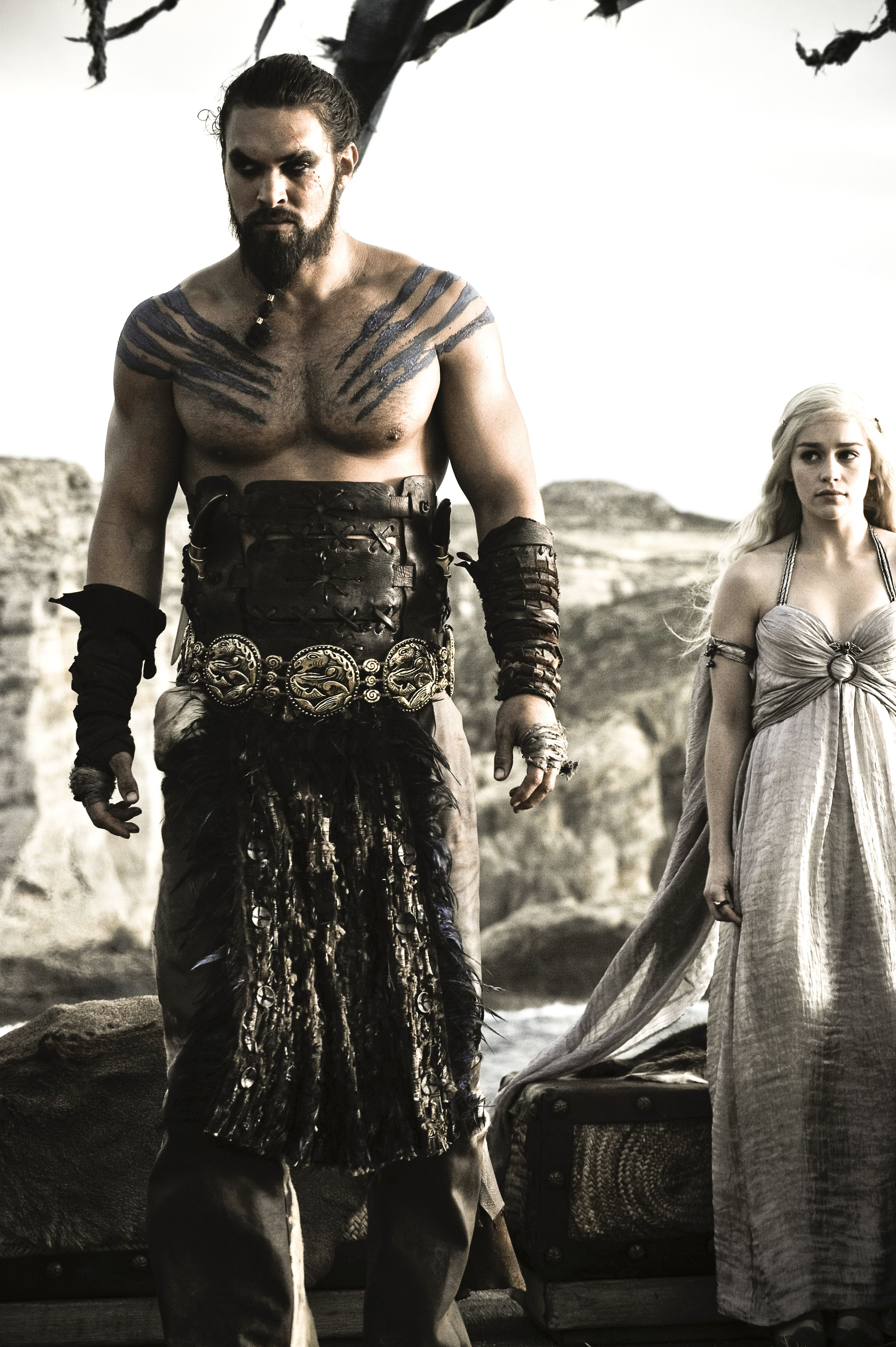 Daenerys and Khal Drogo | Game of Thrones | Pinterest ...