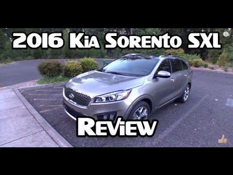 2016 Kia Sorento Sxl Review Kia Sedona Mini Van Kia Sorento