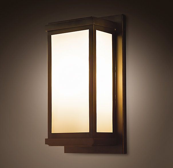 Outdoor Light Fixtures · Braxton Sconce, Restoration Hardware... Delivered  Today! Canu0027t Wait To