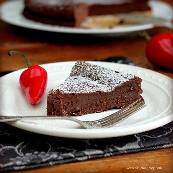 Flourless Chili Chocolate Cake