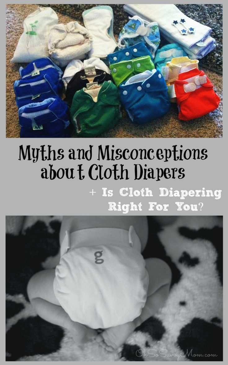 Myths about diapers