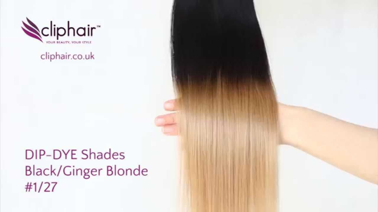 Shade Dip Dye Hair Extensions T127 See Product In This Video
