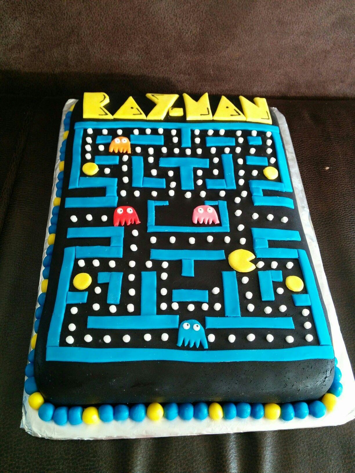 Pin On Pac Man Cake Ideas