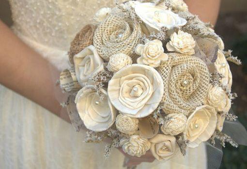 Resultado de imagen de ramos de novia originales