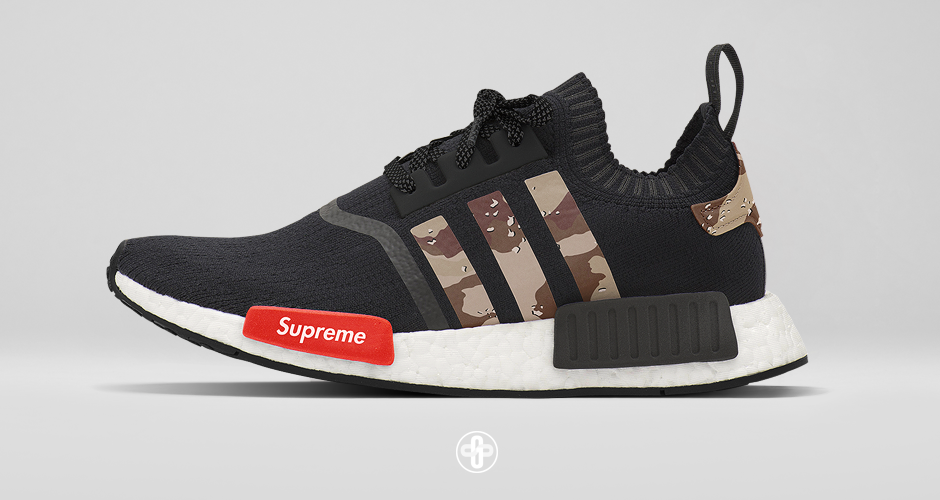 new styles 07403 1813c Supreme x adidas NMD