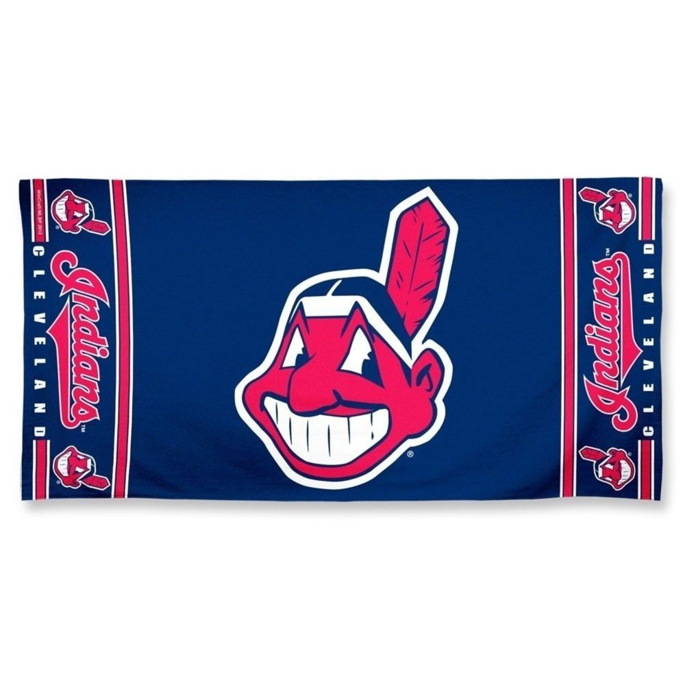 Mlb Cleveland Indians Fiber Beach Towel 9lb 30 X 60 Atlanta Braves Iphone Wallpaper Cleveland Indians Game Cleveland Indians