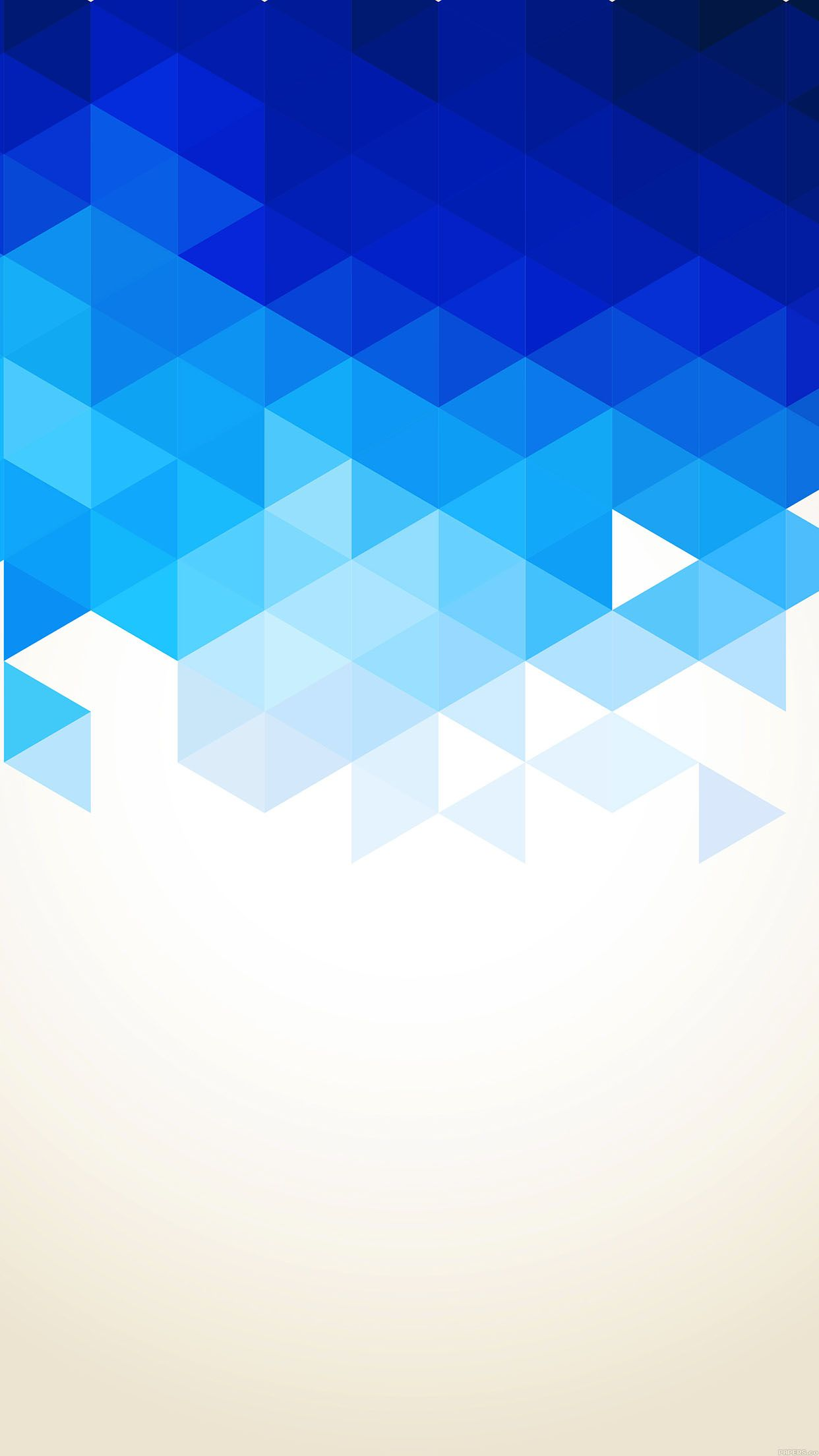 Tap And Get The Free App Pattern Triangle Blue Cool Beautiful
