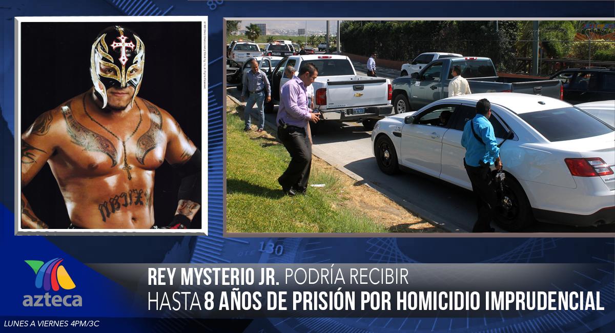 Informador: VIDEO: REY MYSTERIO JR. es detenido por el asesinato del hijo del Perro Aguayo.