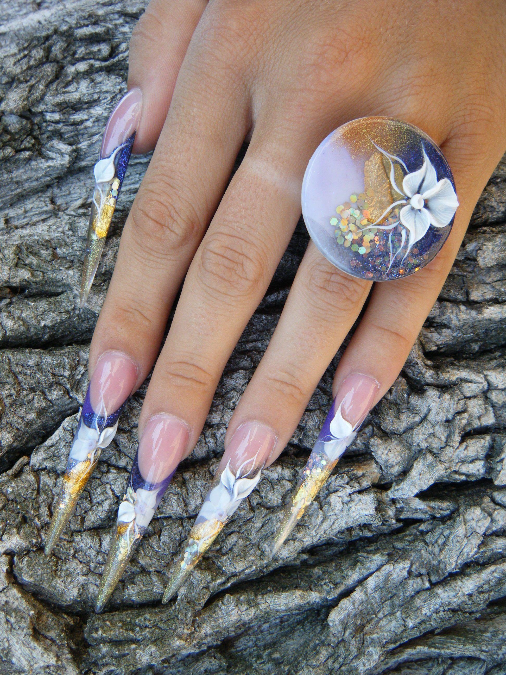 Bemerkenswert Nägel Muster Referenz Von #crystalnails #nägel #nagelstudio #nailart #muster #gelnägel #babyboomer