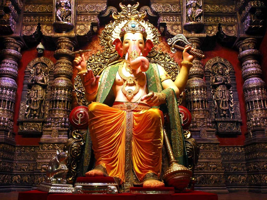 ganpati lalbaugcha raja wallpaper download | mobiles | pinterest