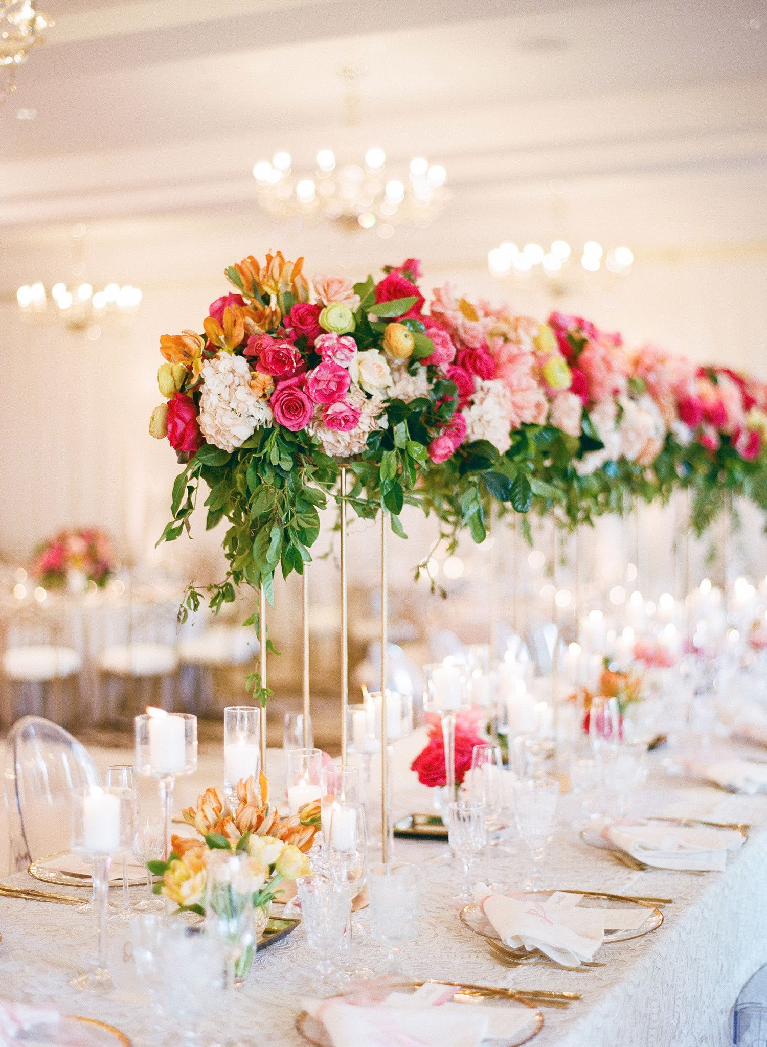 Take Your Floral Tabletop Arrangements To New Heights (Literally) By