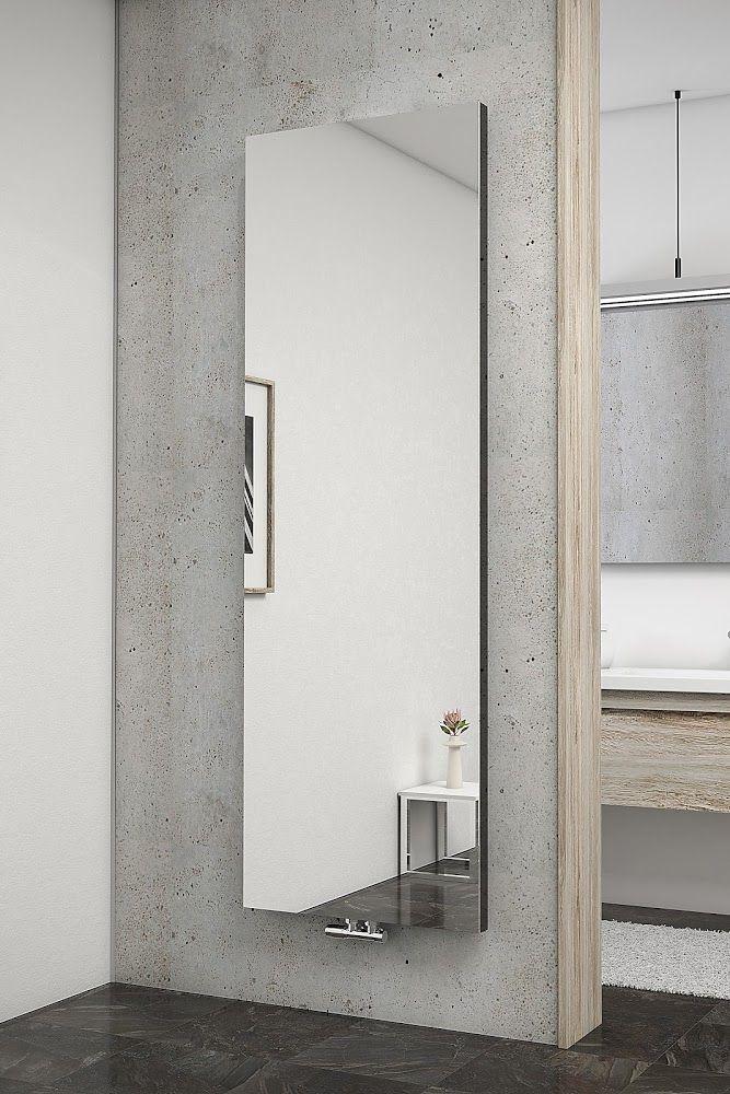 Designheizkorper Wohnraumheizkorper New York Mit Spiegel Design Heizkorper Moderne Heizkorper Badezimmerideen
