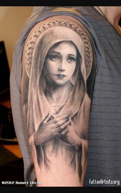 Hail Mary Tattoo Mother Mary Tattoos Mary Tattoo Virgin Mary Tattoo