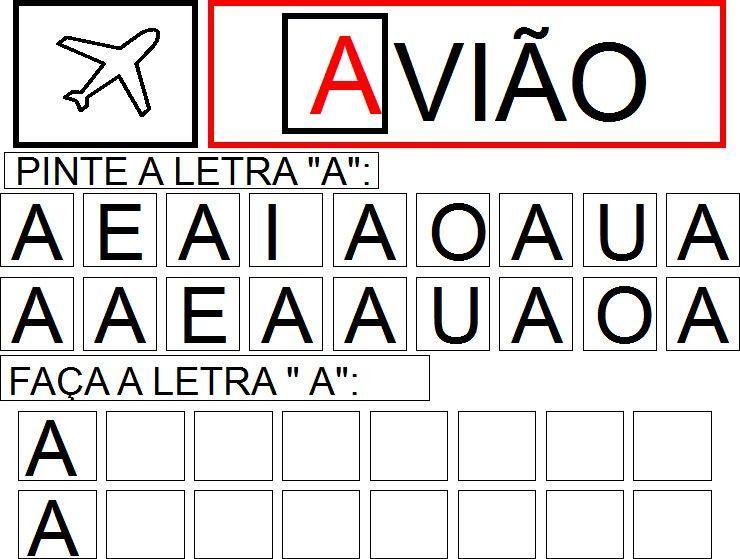 Folha 13 Atividades Letra E Atividades Com Vogais Atividades