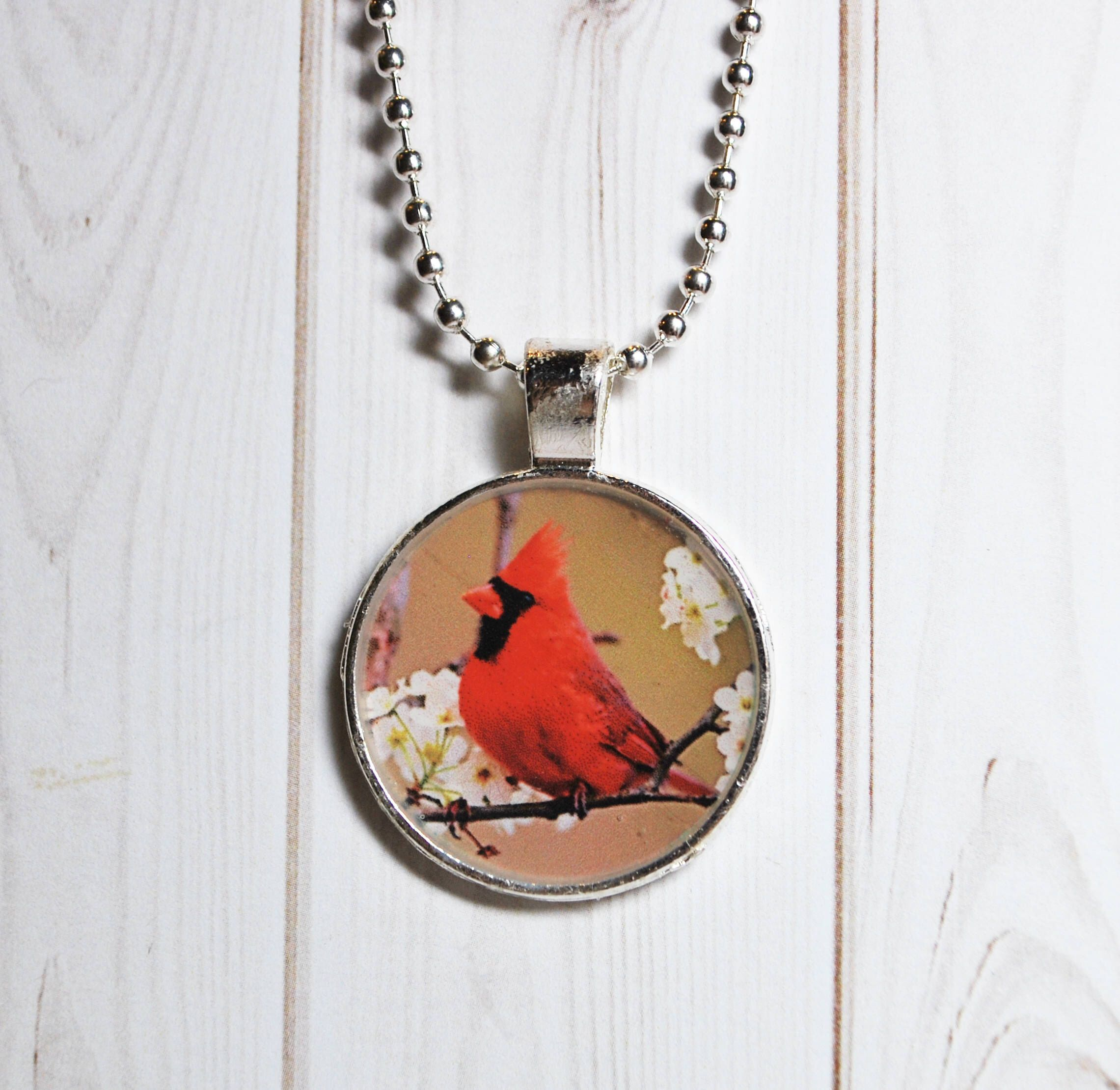 cardinal necklace ladies jewelry swarovski