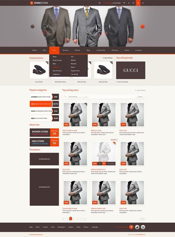 The Source Of Inspiration Ecommerce Web Design Web Design