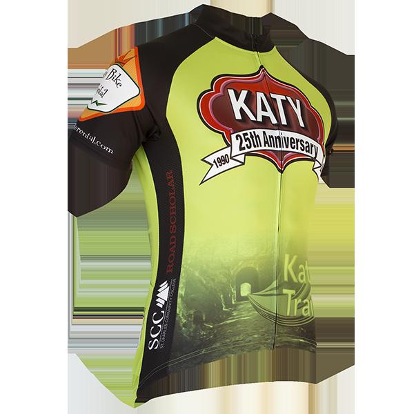 Katy Trail- 25th Anniversary Jersey - Retro Image Apparel Two. Katy Trail-  25th Anniversary Jersey - Retro Image Apparel Two Cycling Jerseys 0d3b4facc
