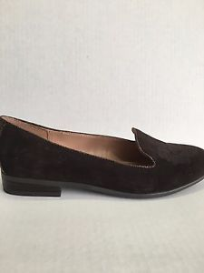 72dd4e3cd92 Etienne Aigner Kathy Brown Suede Loafers Shoes Size 7.5 NWOB ...