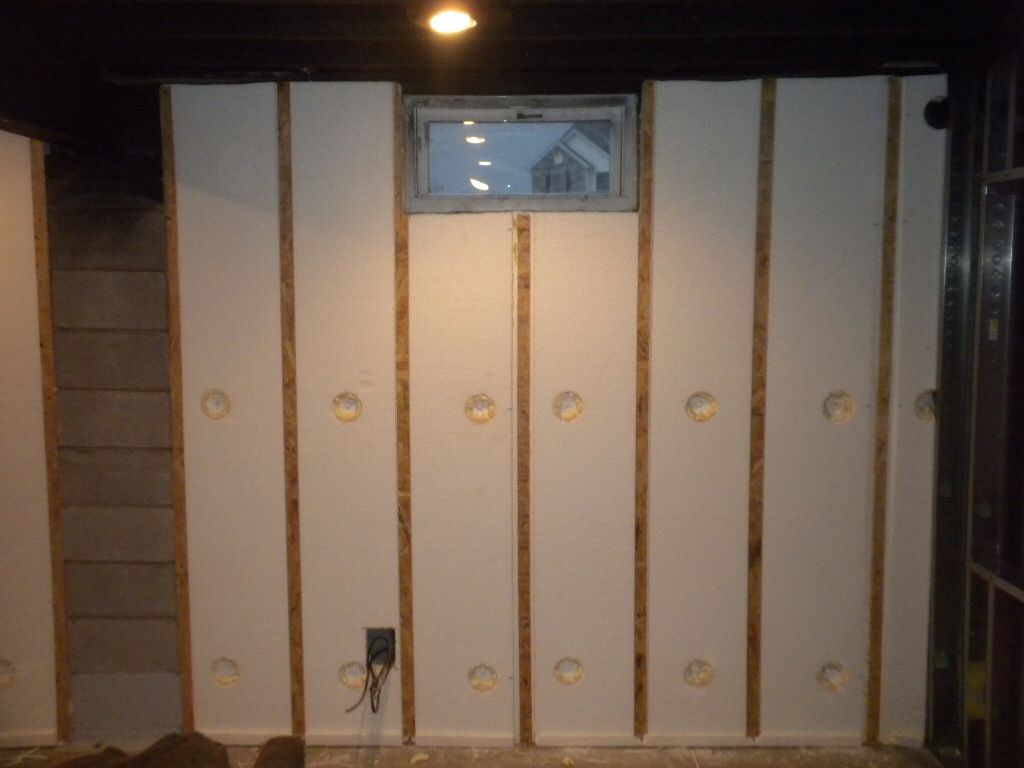 Finished Basement Wall Panels : Quot magic wall basement finishing system r insulated