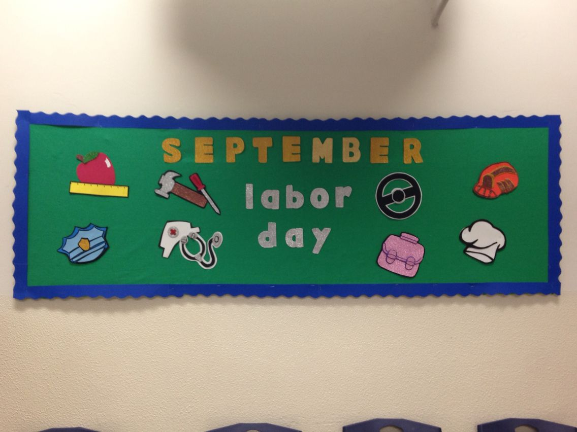 september labor day bulletin board | projects to try | pinterest