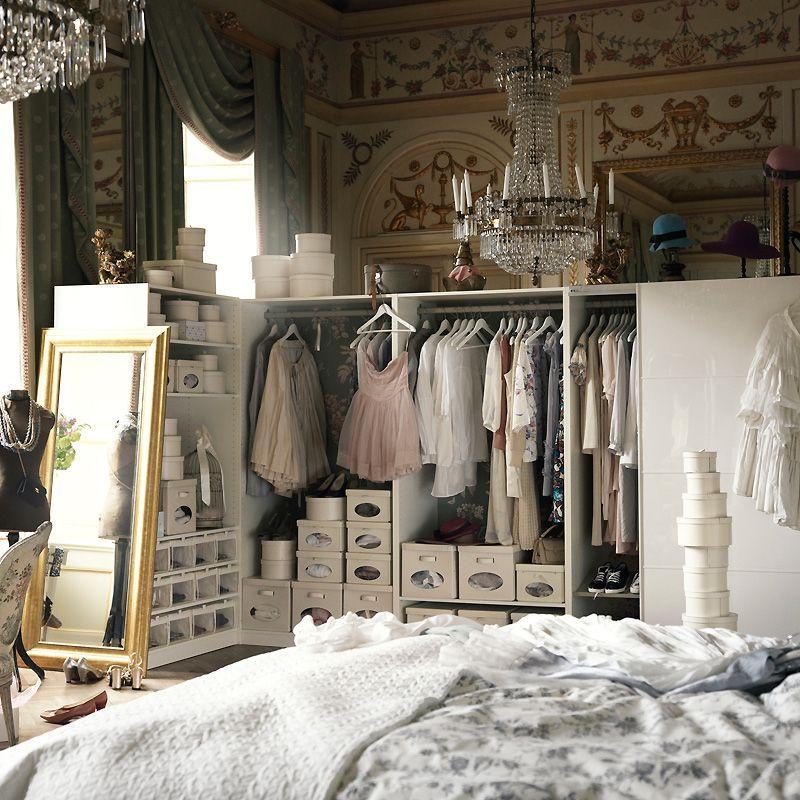 petits espaces am nager un dressing dans une petite chambre en 2018 dressing pinterest. Black Bedroom Furniture Sets. Home Design Ideas
