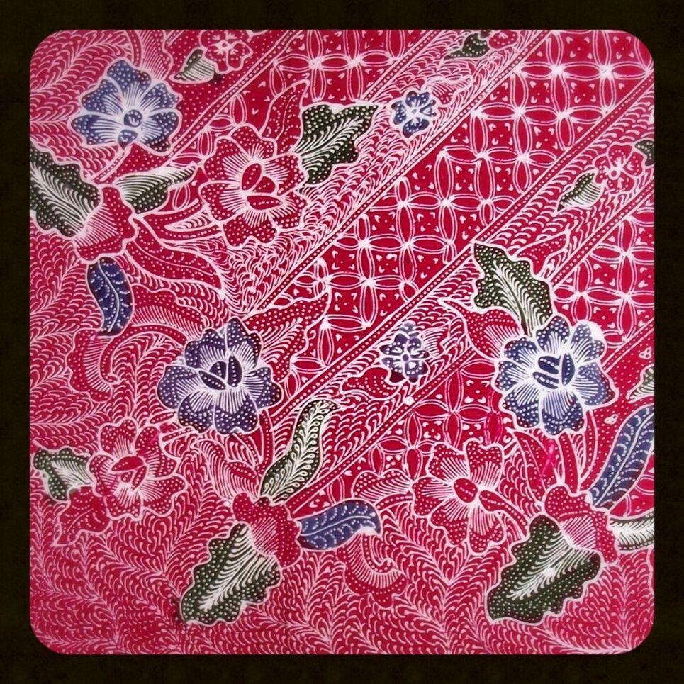 Motif Batik Kawung Pekalongan - Batik Indonesia