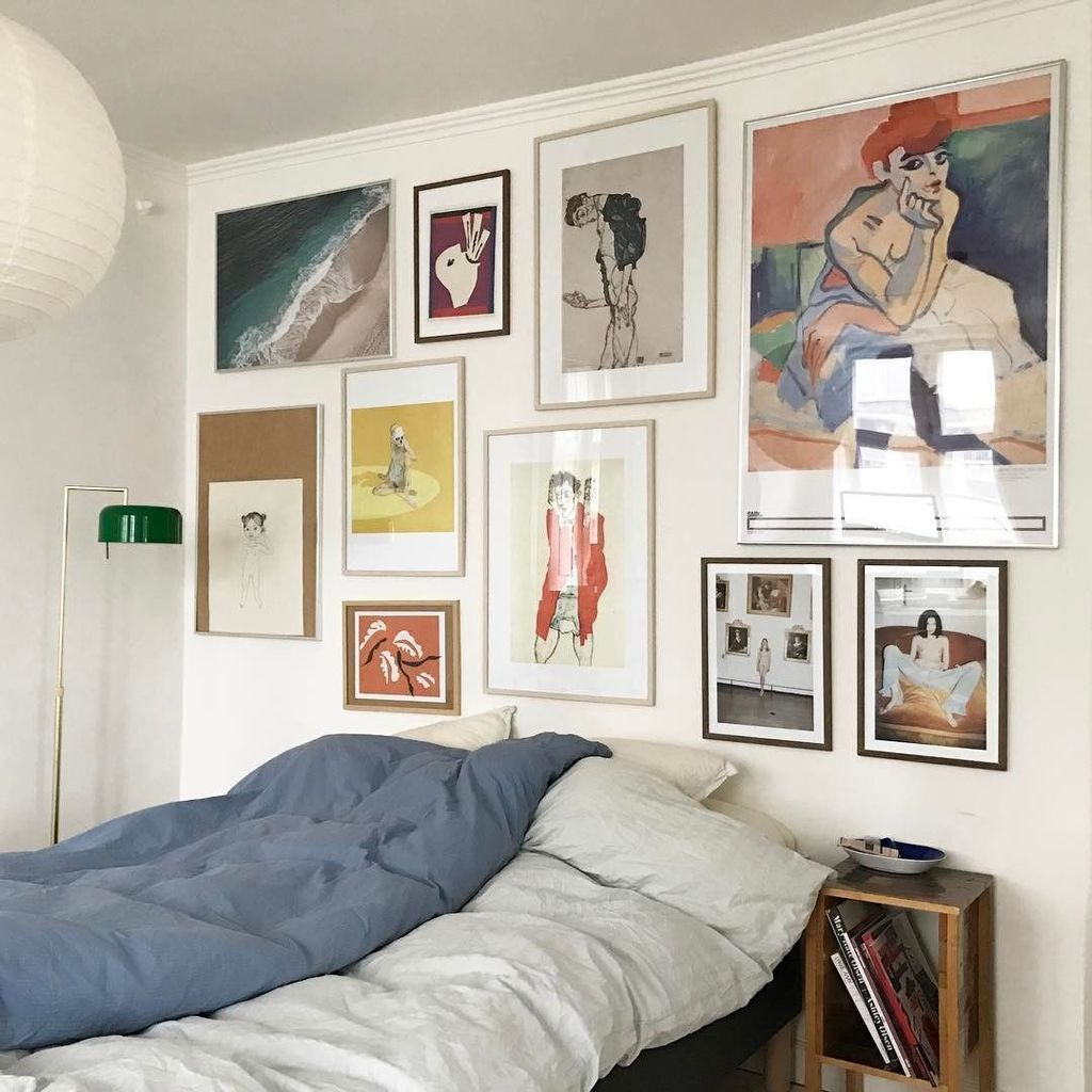 Photo of Neutral Gallery Wall   A Guide To Color and Collections