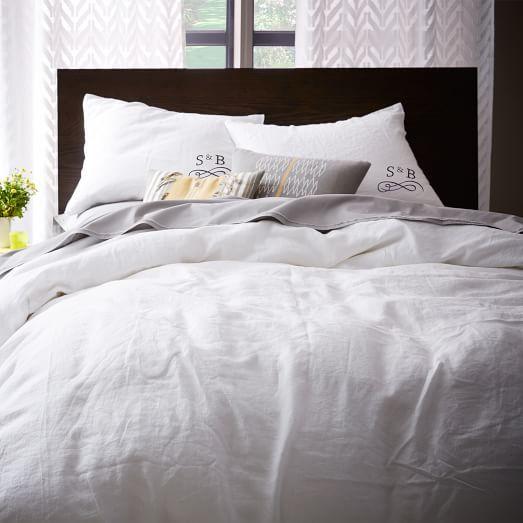 European Flax Linen Duvet Cover Shams White Bed Linens Luxury Bed Linen Design Luxury Bedding Sets