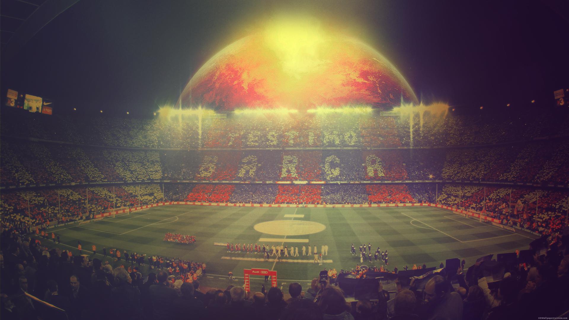 Barcelona camp nou stadium hd wallpaper http www - Camp nou barcelona wallpapers hd ...