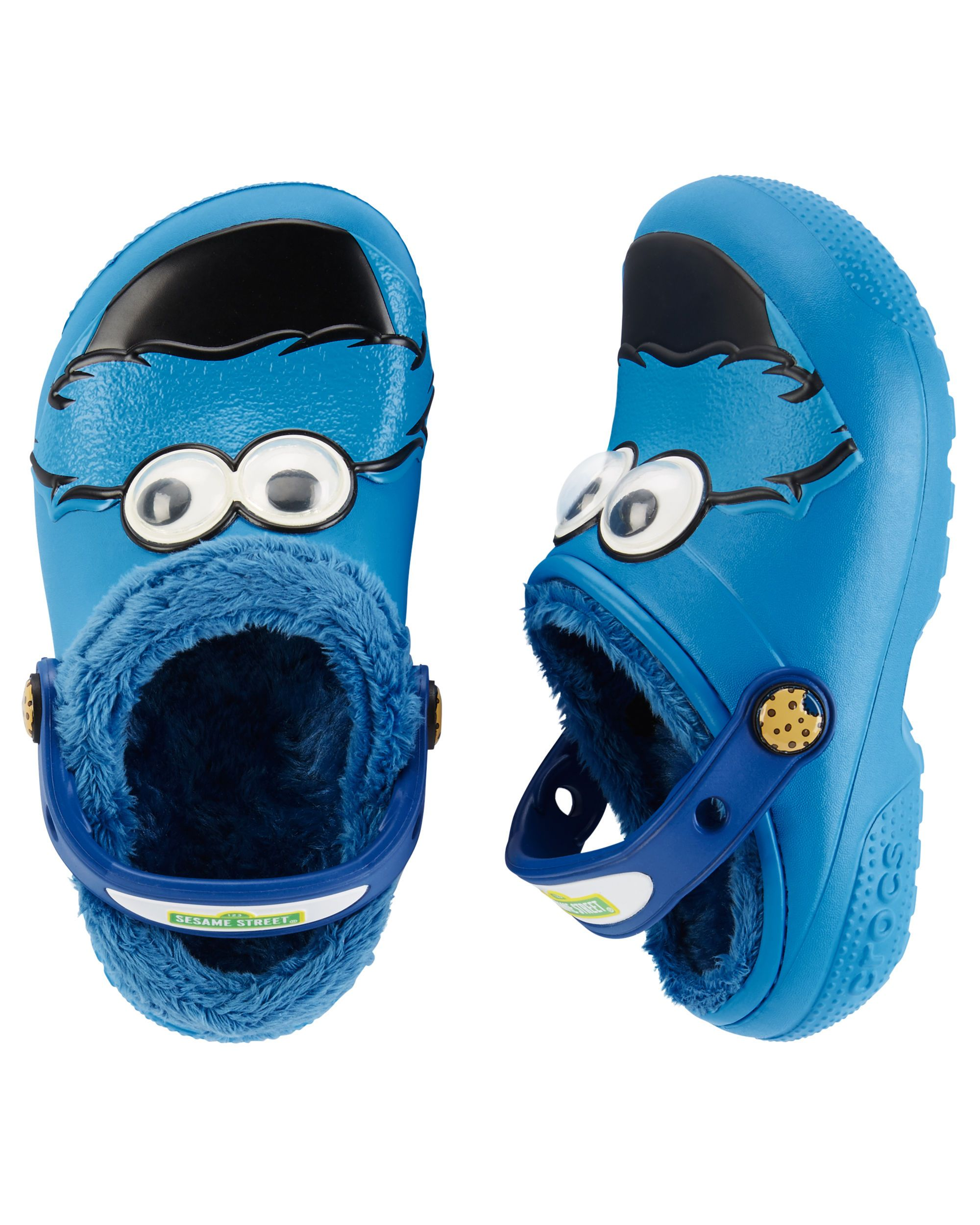 0dd38afe6 Crocs Fun Lab Cookie Monster Clogs