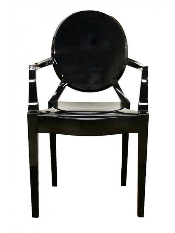 Dining Room Xandra Arm Chair, Black Chair, Furniture