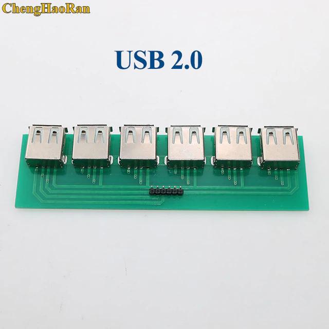 Chenghaoran For Iphone 5 5s 6 Mini Micro Usb To Dip Adapter Pcb Test Board Usb 2 0 3 0 3 1 Type C Hdmi Female Connector Socket In Conn In 2020 Usb Mini Micro Micro Usb