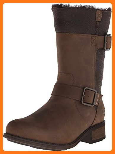 Womens Boots UGG Oregon Stout Twinface/Leather