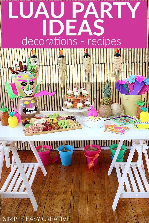Homemade Diy Hawaiian Decorations Valoblogi Com