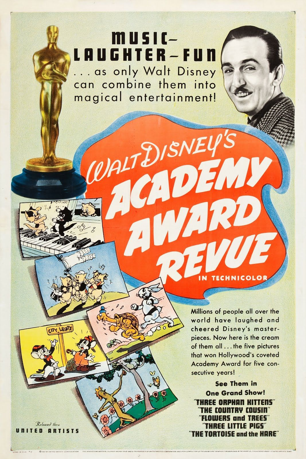 Download Academy Award Review of Walt Disney Cartoons Full-Movie Free
