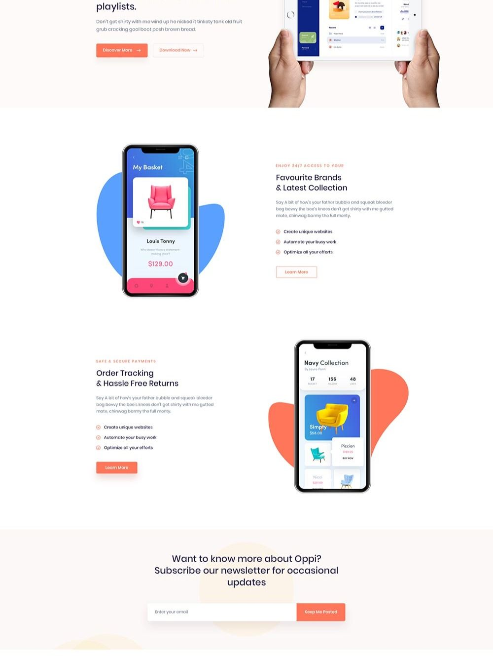 Pin by Design Gallery on Landing Page Design in 2020