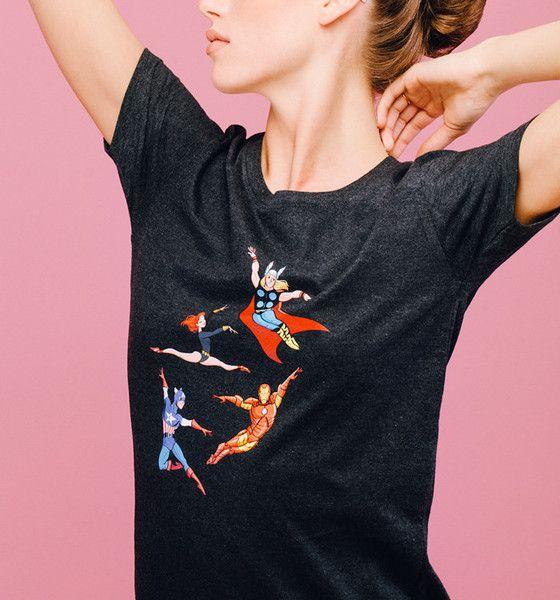 Cloud & Victory dancewear Spring/Summer '16 / The Assemblé Tee / Modeled by ballet dancer Keenan Kampa / www.cloudandvictory.com