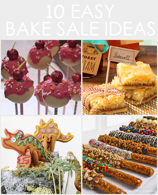 10 Easy Bake Sale Ideas for Kids #bakesaleideas