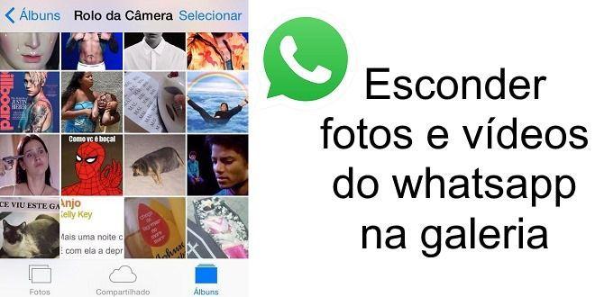 Aprenda esconder as fotos do whatsapp na galeria, tutorial para android e iphone https://goo.gl/zF88zK