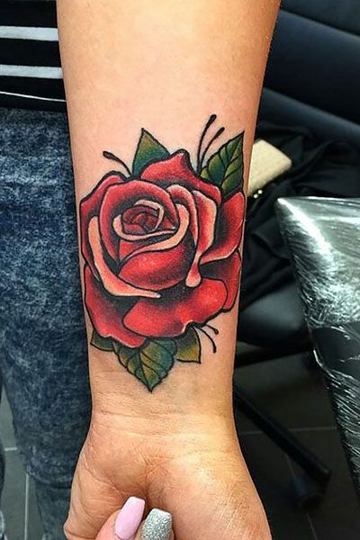 35 Beautiful Rose Tattoo Ideas for Women
